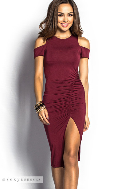 product detail casual burgundy back modelos