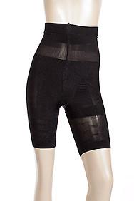 Black High Waist Thigh Slimmer Body Shaper Girdle