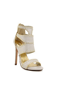 Beige 'Sumac' Gladiator High Heel