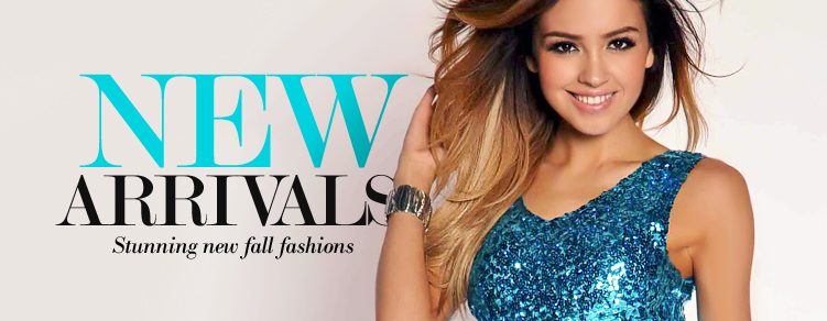 New Arrivals - Beautiful hand picked dresses, the latest fashions all in one place