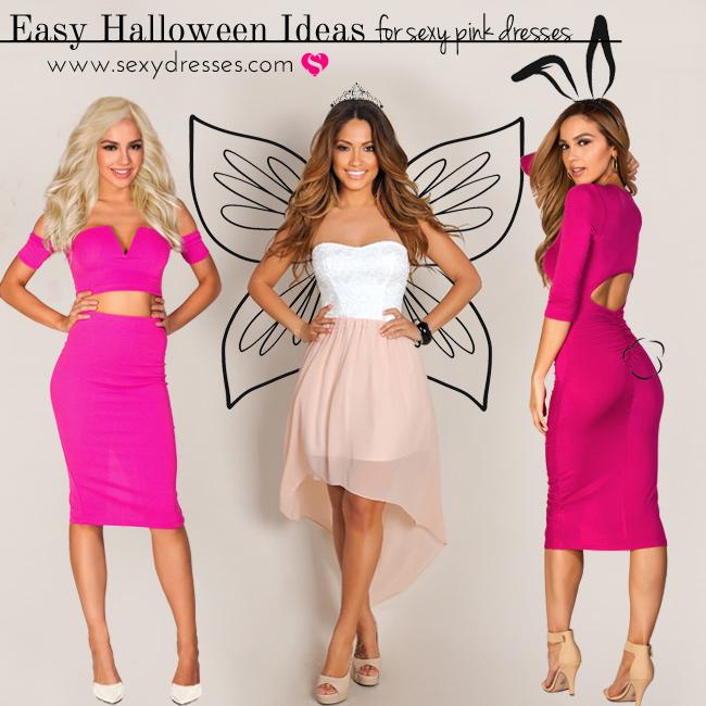 Halloween-Pink-Dresses